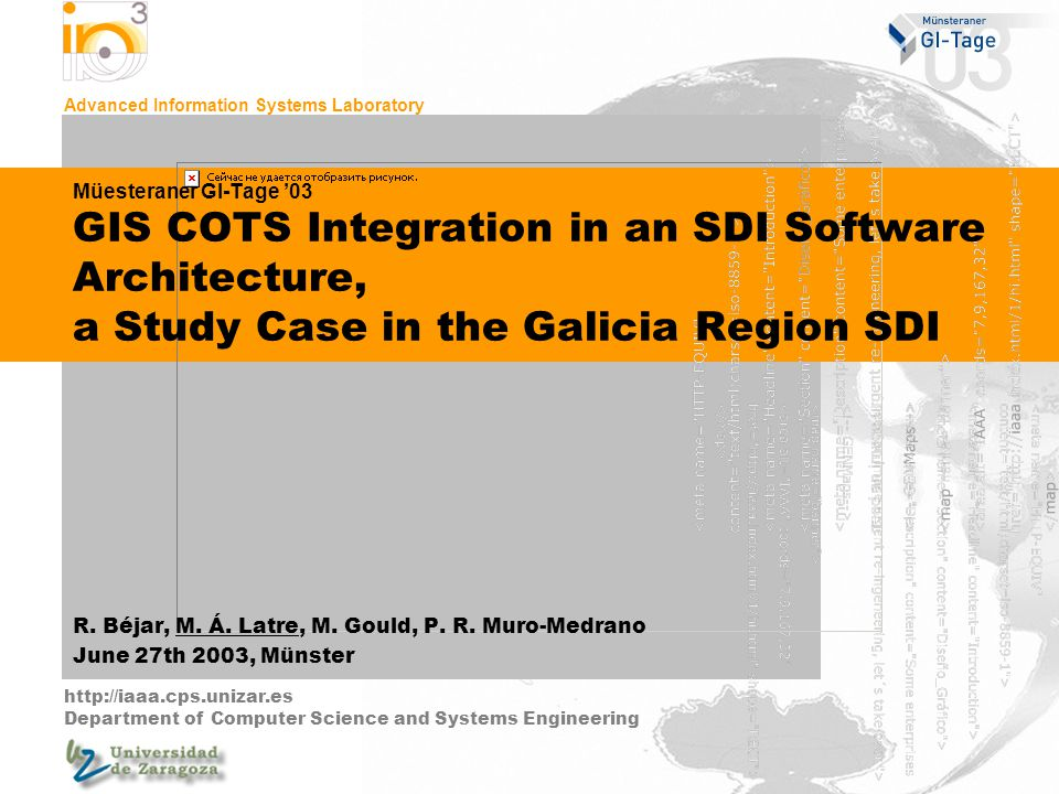 COTS.ppt12-jun-142 Index Introduction Galicia Department of the Environment CMA SDI Development Service Architecture COTS Component Architecture Homogeneous views For users For developers and advanced users Conclusions