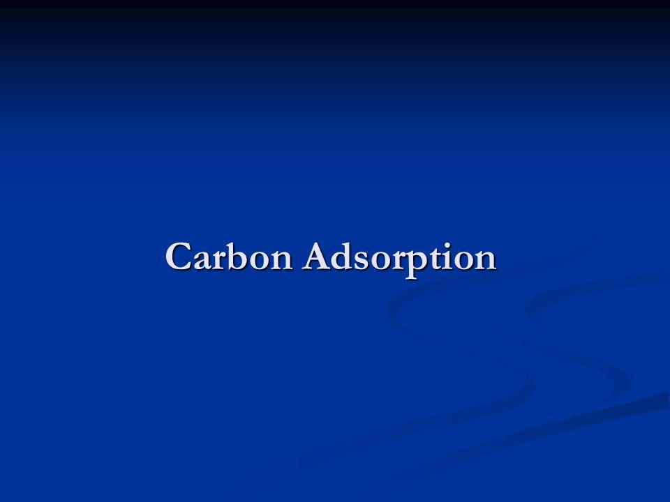 Carbon Adsorption