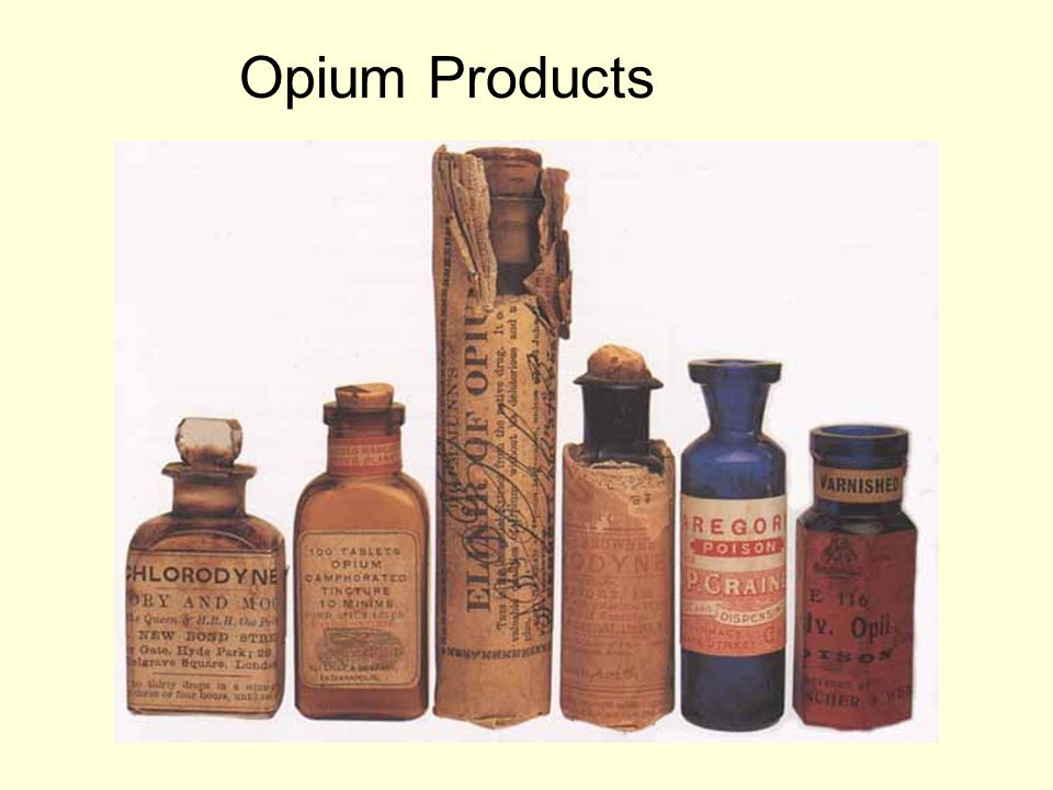 Opium Products