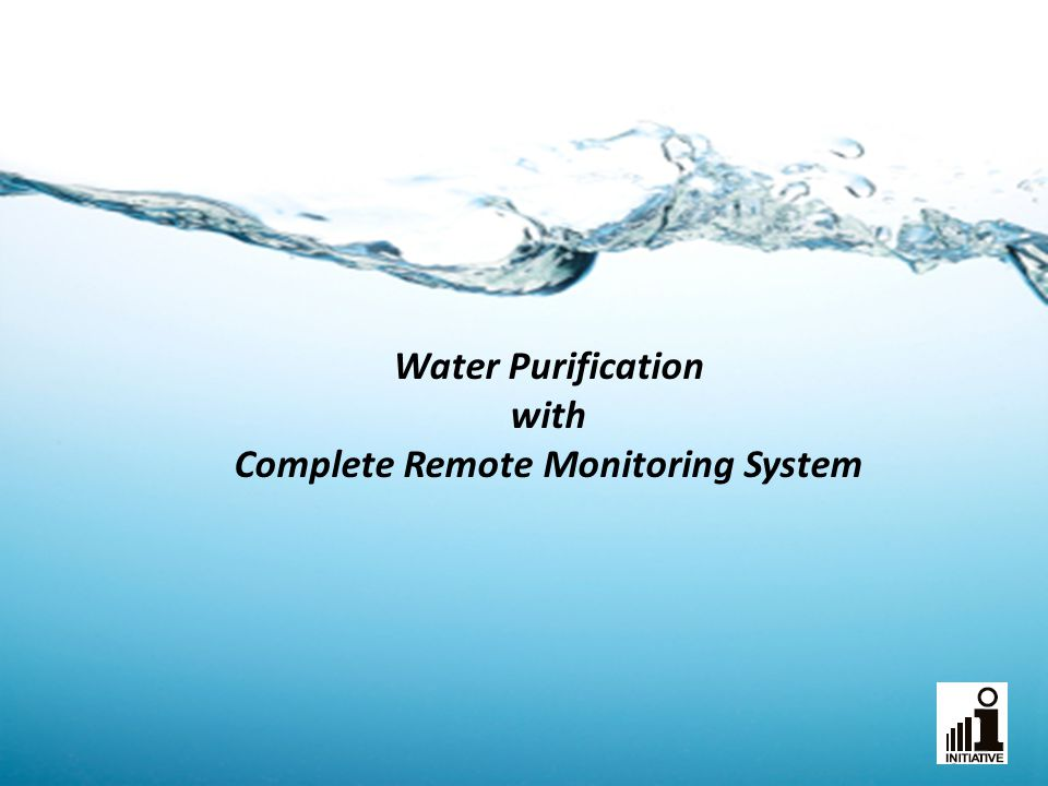Water Purification with Complete Remote Monitoring System