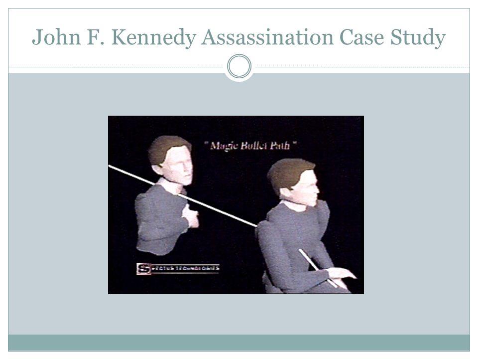 John F. Kennedy Assassination Case Study