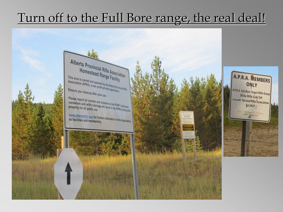 Turn off to the Full Bore range, the real deal!