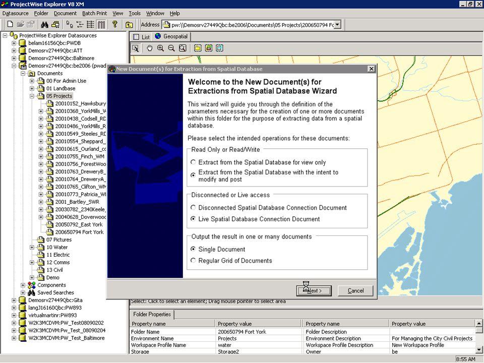 © 2007 Bentley Systems, Inc. 40 Demo: Creating Information
