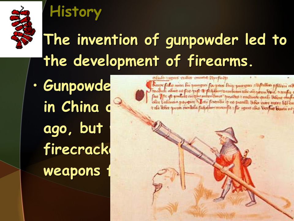 History However, once the effectiveness of projectiles propelled by the force of gunpowder against both the armor of knight-soldiers and fortifications was known, the use of firearms proliferated rapidly.However, once the effectiveness of projectiles propelled by the force of gunpowder against both the armor of knight-soldiers and fortifications was known, the use of firearms proliferated rapidly.
