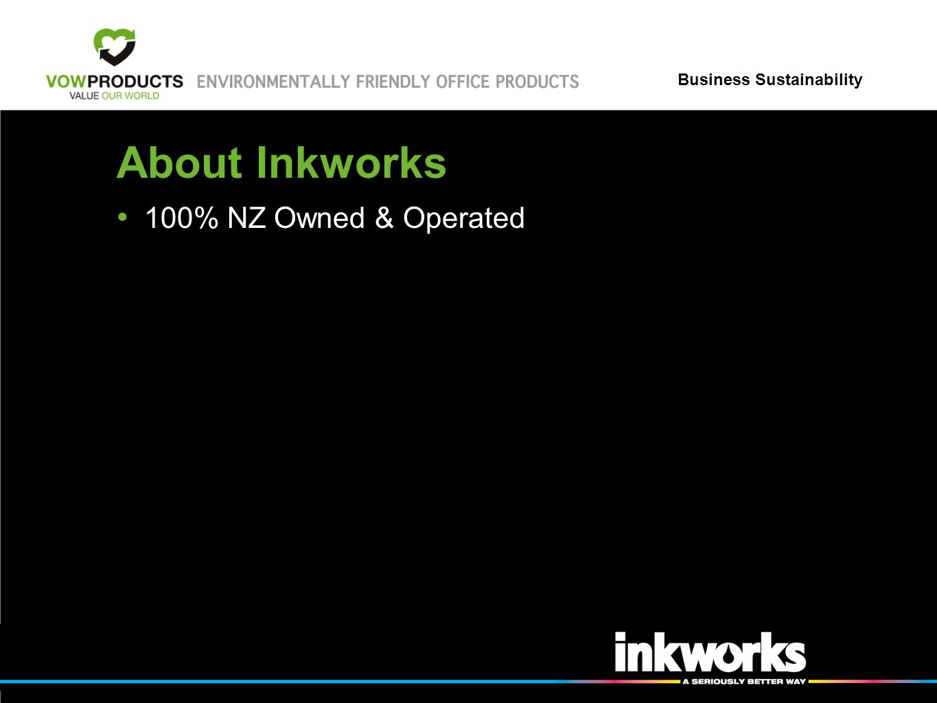 About Inkworks 100% NZ Owned & Operated
