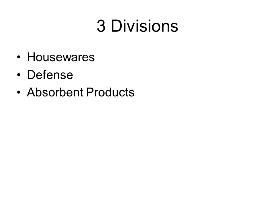 3 Divisions Housewares Defense Absorbent Products