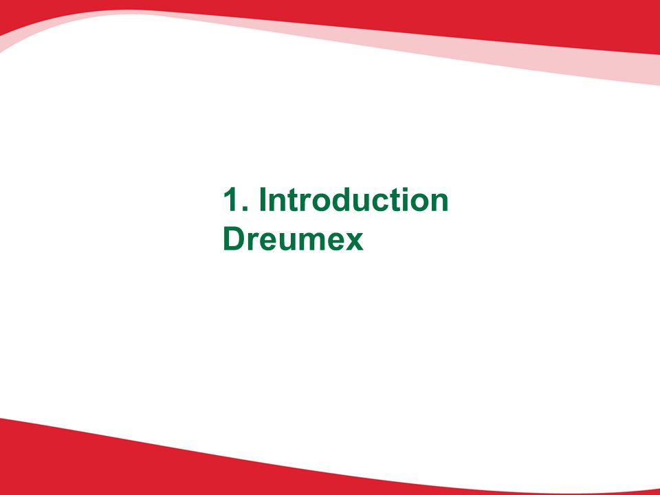 1. Introduction Dreumex