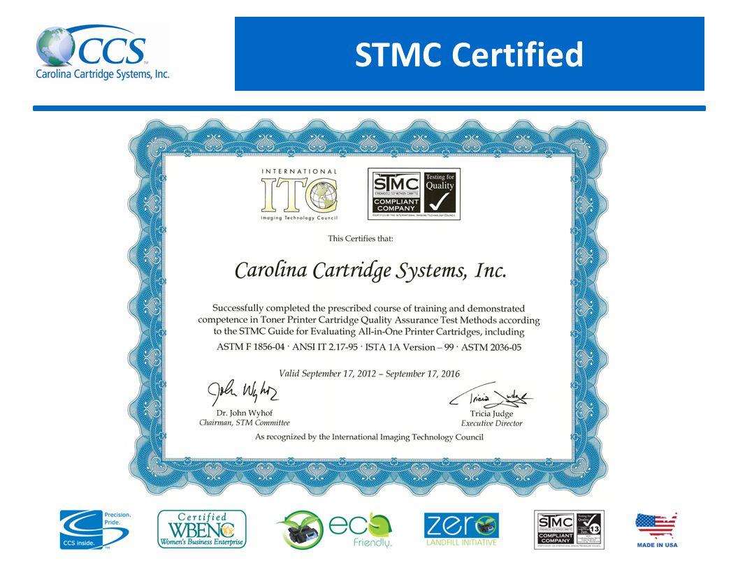 STMC Certified