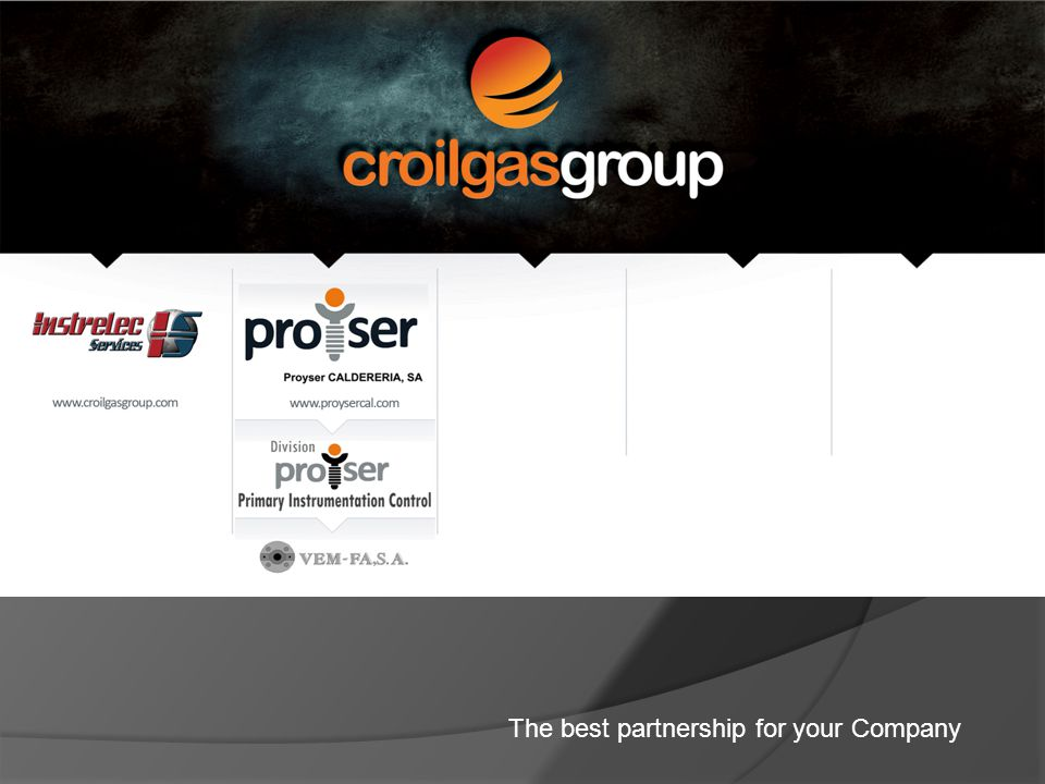THE BEST PARTNERSHIP FOR YOUR COMPANY HISTORY AND GOALS OF PROYSER CALDERERÍA, SA.
