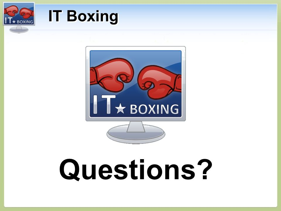 IT Boxing Questions Questions