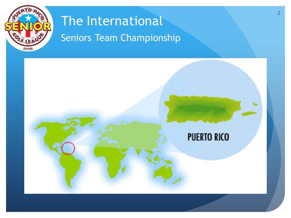 The International Seniors Team Championship 2