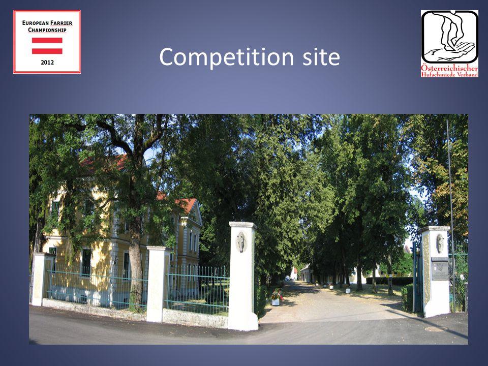 EUROPEAN FARRIER CHAMPIONSHIP AUSTRIA 3 rd to 5 th August 2012