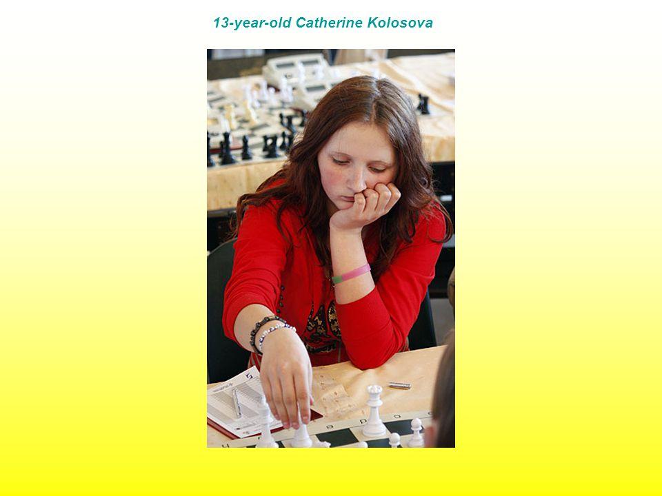 13-year-old Catherine Kolosova