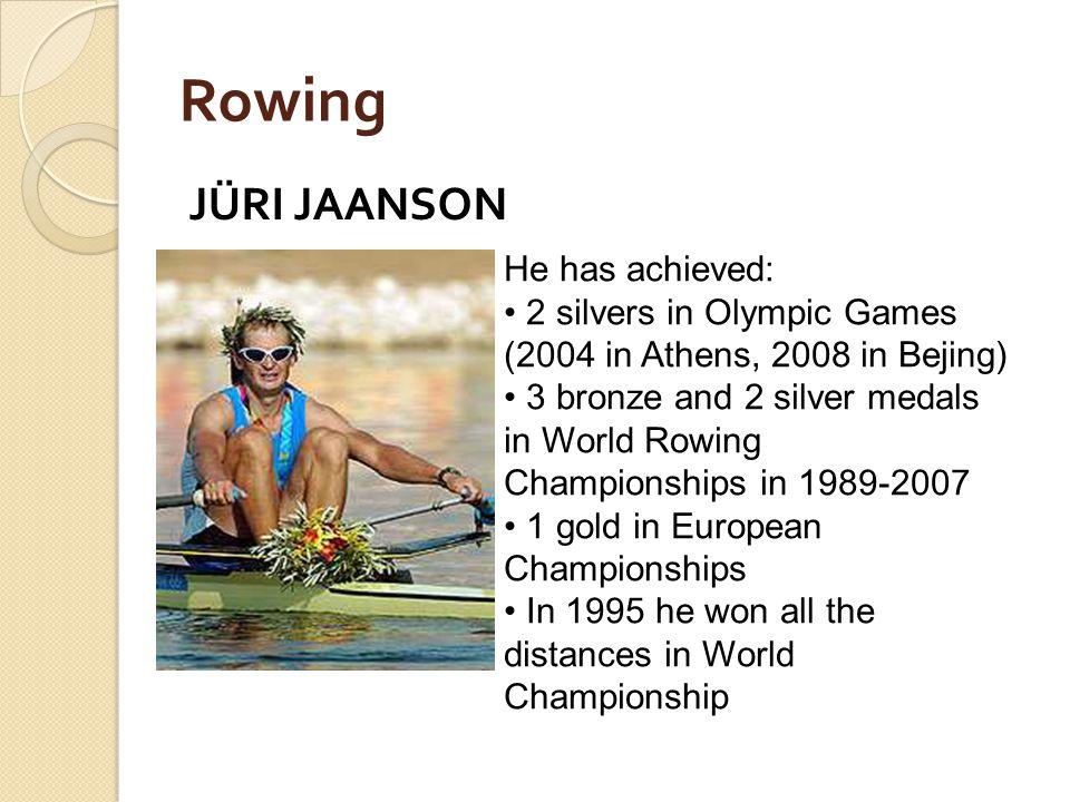 Erki Nool Estonian athlete, Olympic gold medalist in the Decathlon. An Estonian politician.