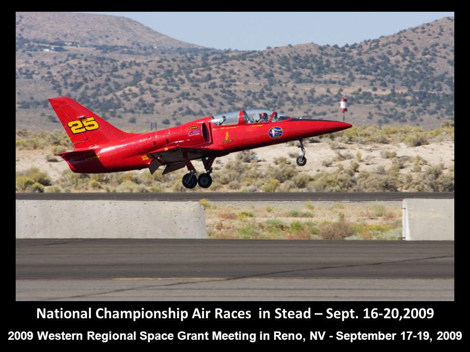 National Championship Air Races in Stead – Sept.
