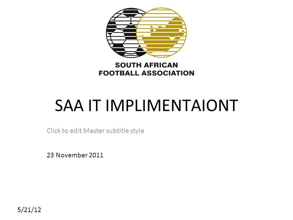 5/21/12 SAFA The South African Football Association is the mother body responsible for all football matters in South Africa SAFA is made up of National Teams, Competitions, Educational programmes and all kinds of other football related activities