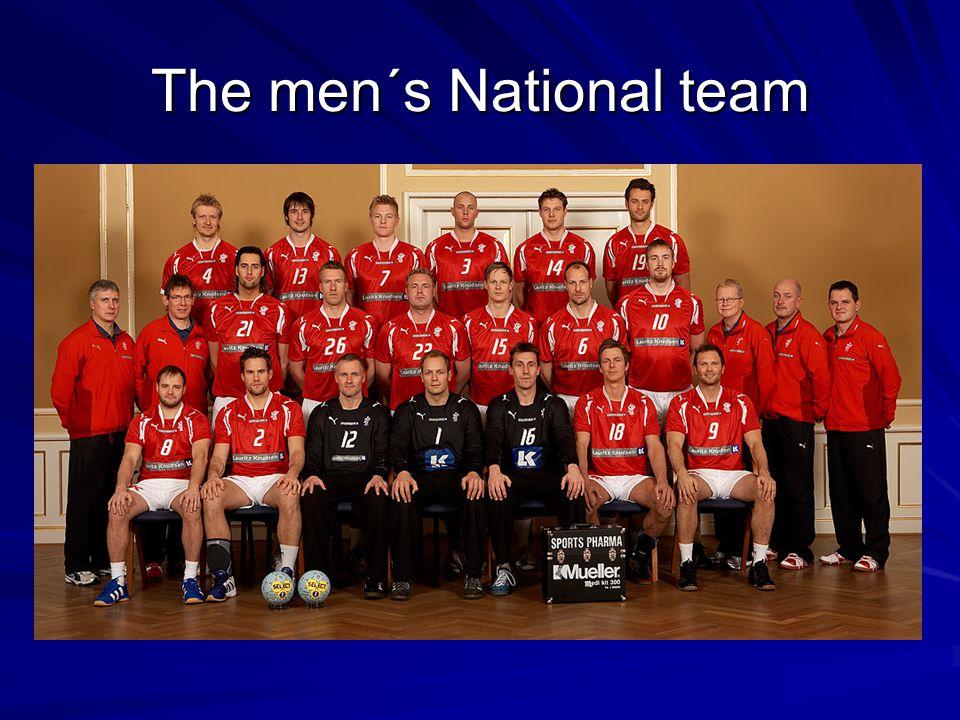 The men´s National team