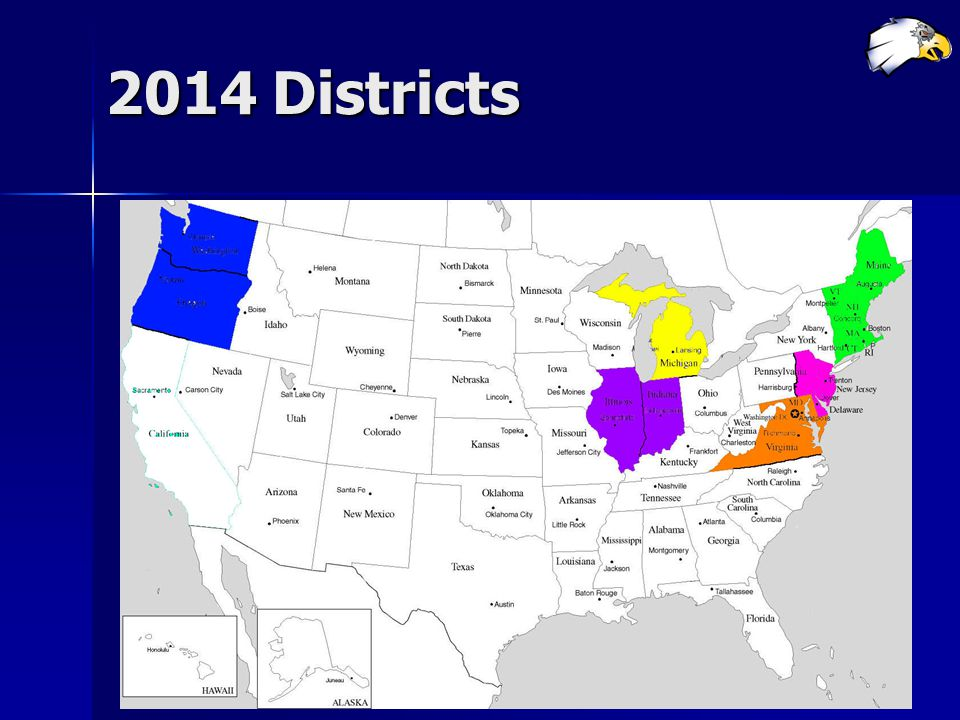 2014 Districts
