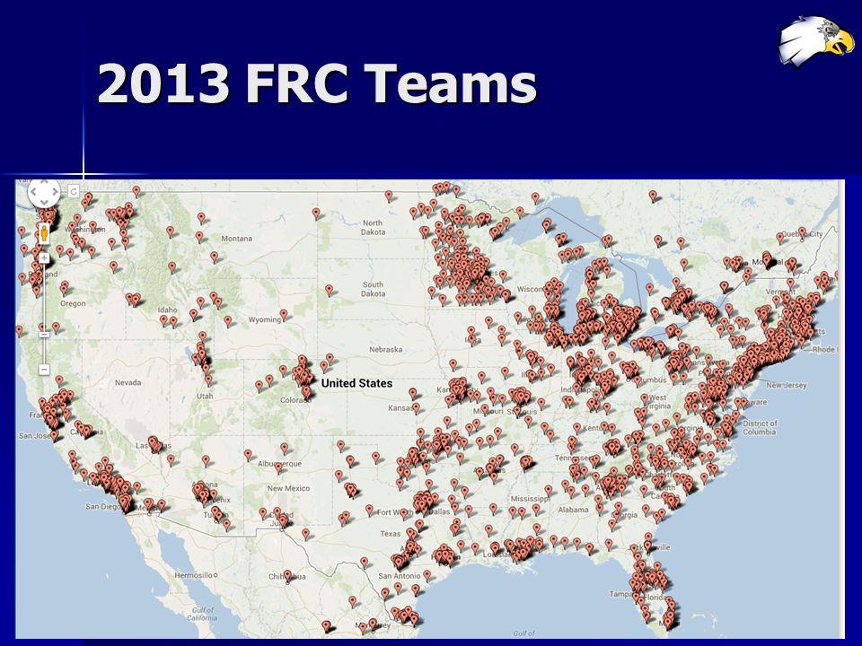 2013 FRC Teams