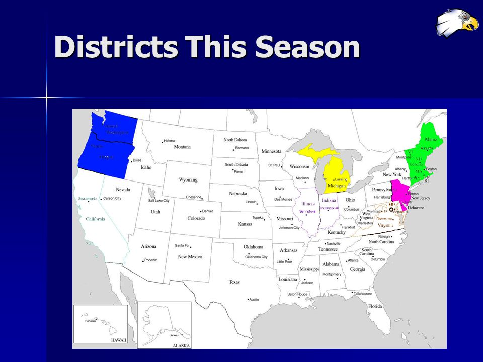 Districts This Season