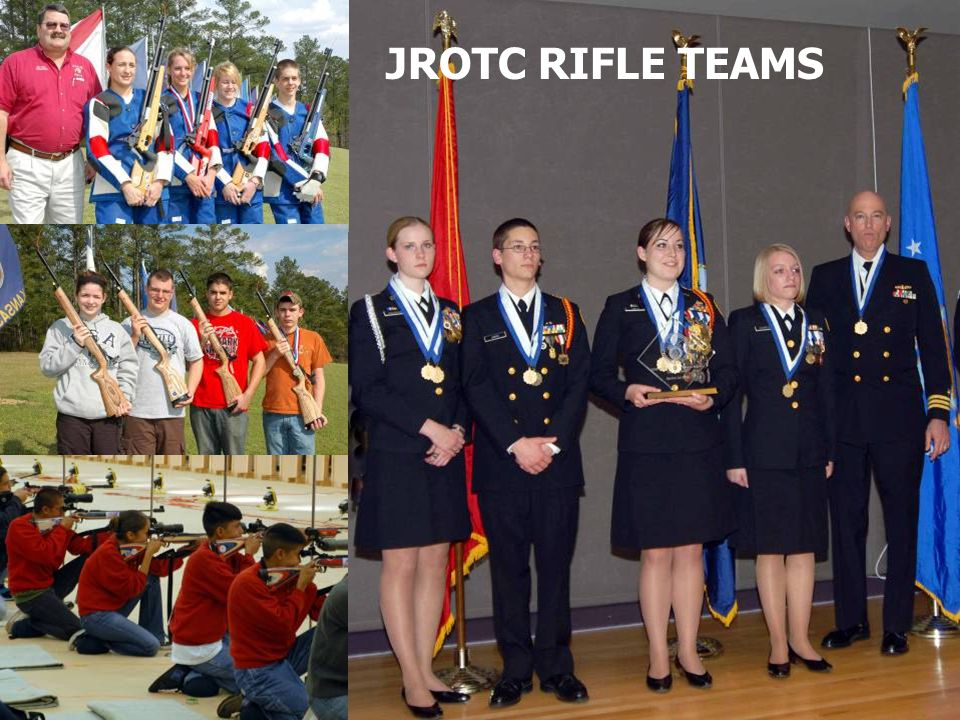 JROTC RIFLE TEAMS