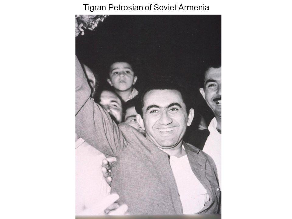 Tigran Petrosian of Soviet Armenia