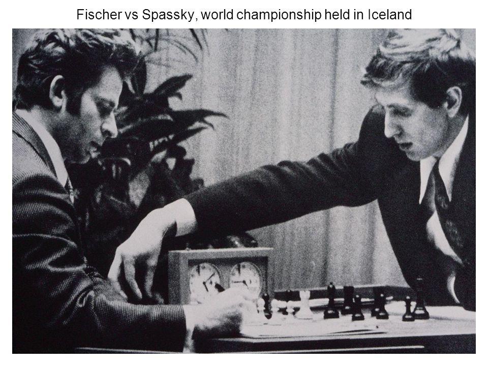 Fischer vs Spassky, world championship held in Iceland