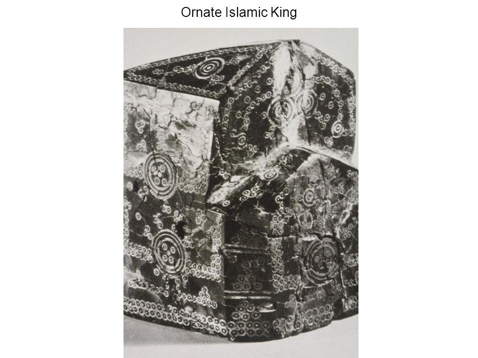 Ornate Islamic King