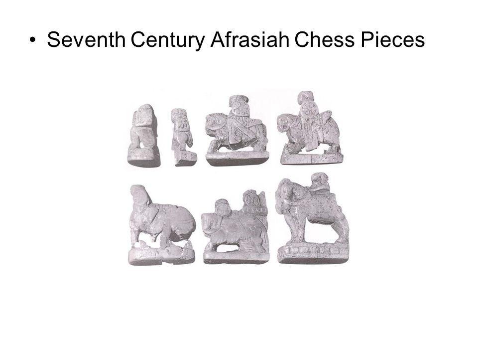 Seventh Century Afrasiah Chess Pieces