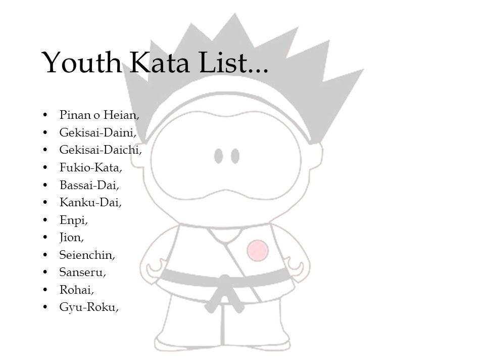 Youth Kata List (2)...