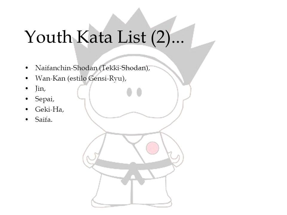 Youth Kata List (2)...