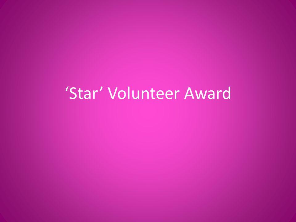 Star Volunteer Award