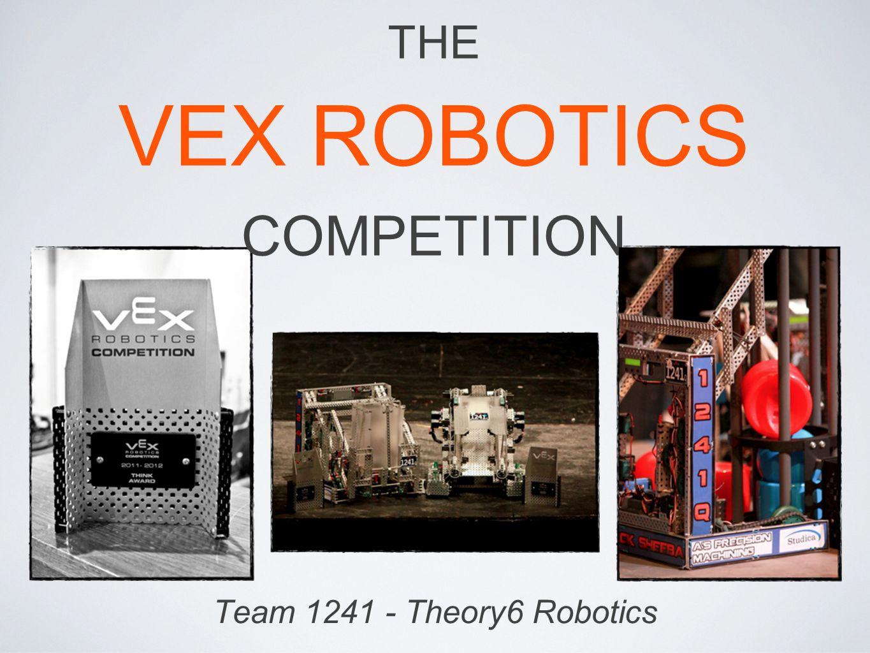 Team 1241 - Theory6 Robotics THE VEX ROBOTICS COMPETITION