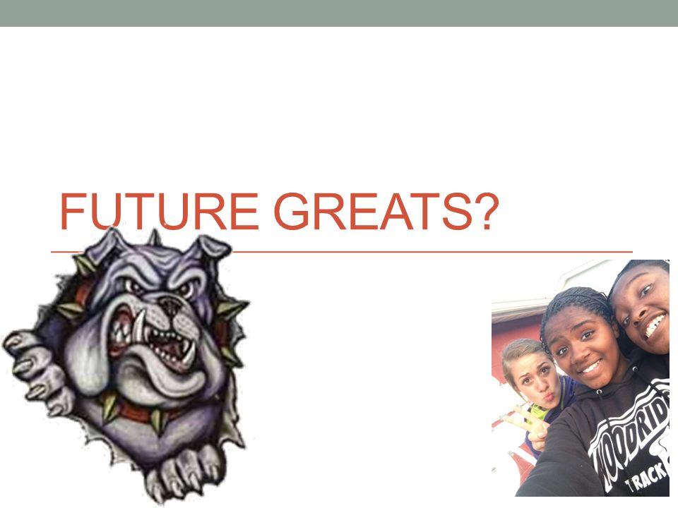 FUTURE GREATS?