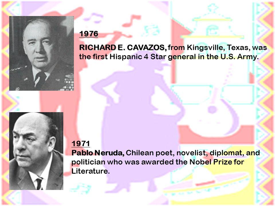 1976 RICHARD E. CAVAZOS, RICHARD E.