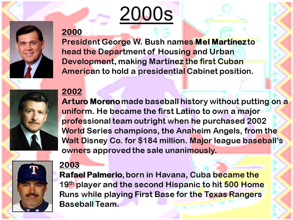 2002 Arturo Moreno Arturo Moreno made baseball history without putting on a uniform.