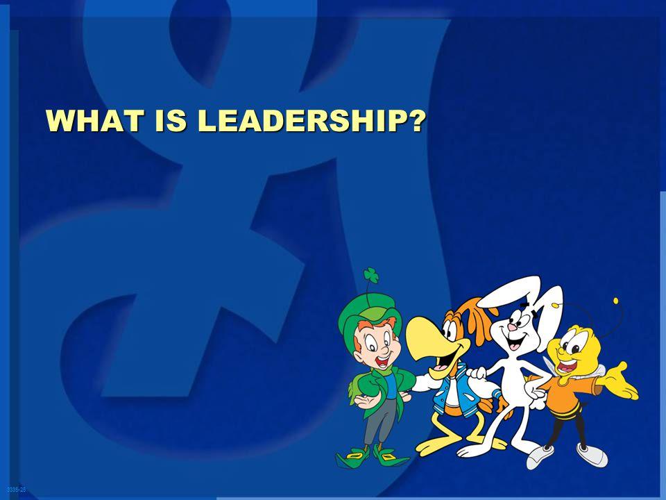 3335-26 WHAT IS LEADERSHIP