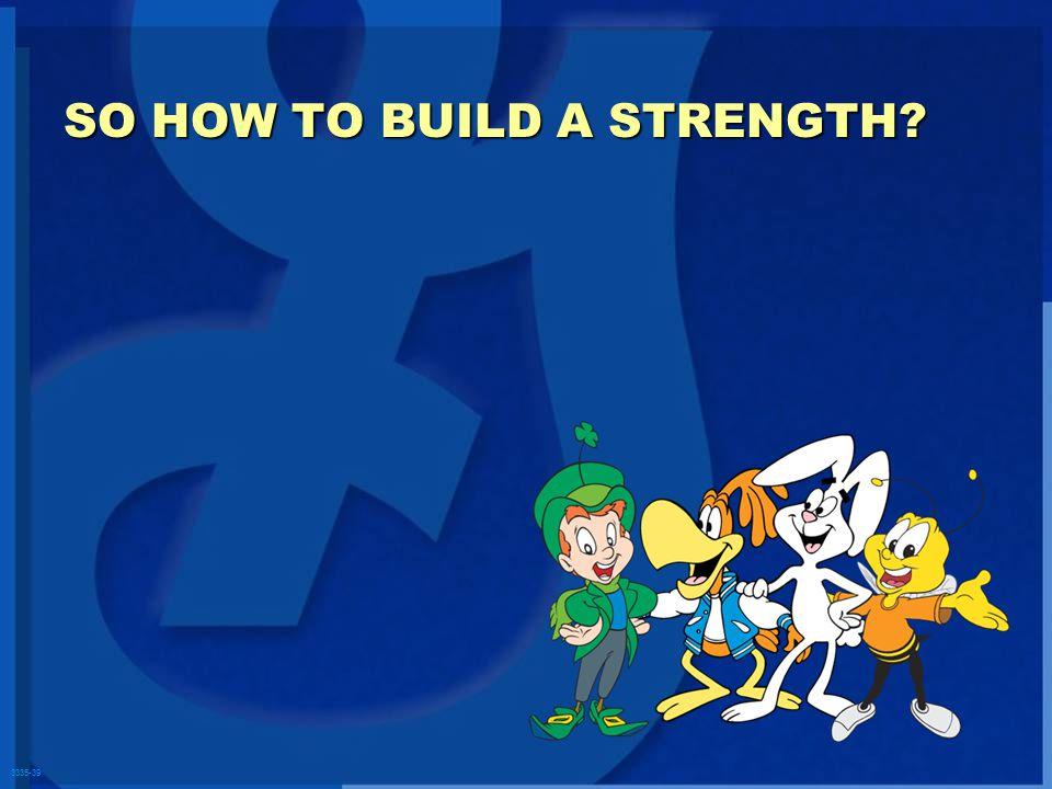 3335-39 SO HOW TO BUILD A STRENGTH?
