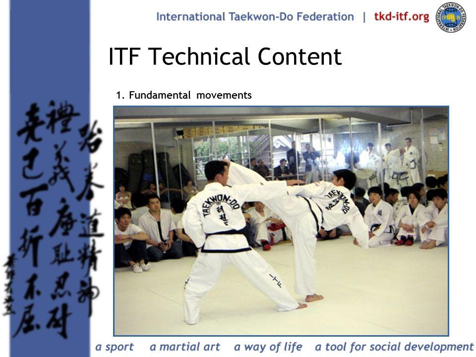 21 ITF Technical Content 1. Fundamental movements