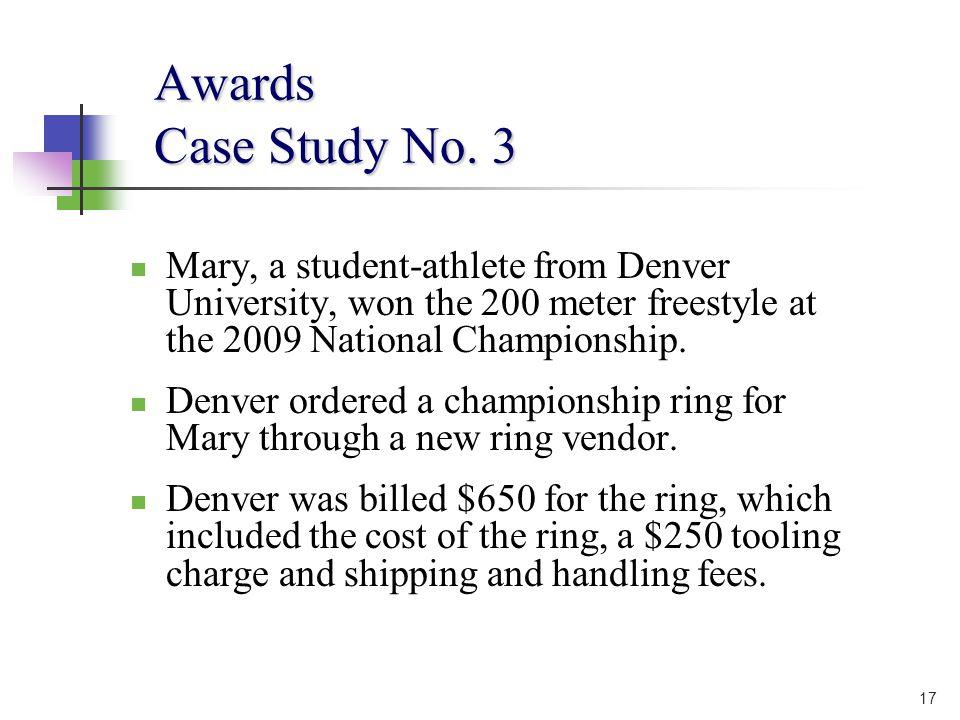 17 Awards Case Study No.
