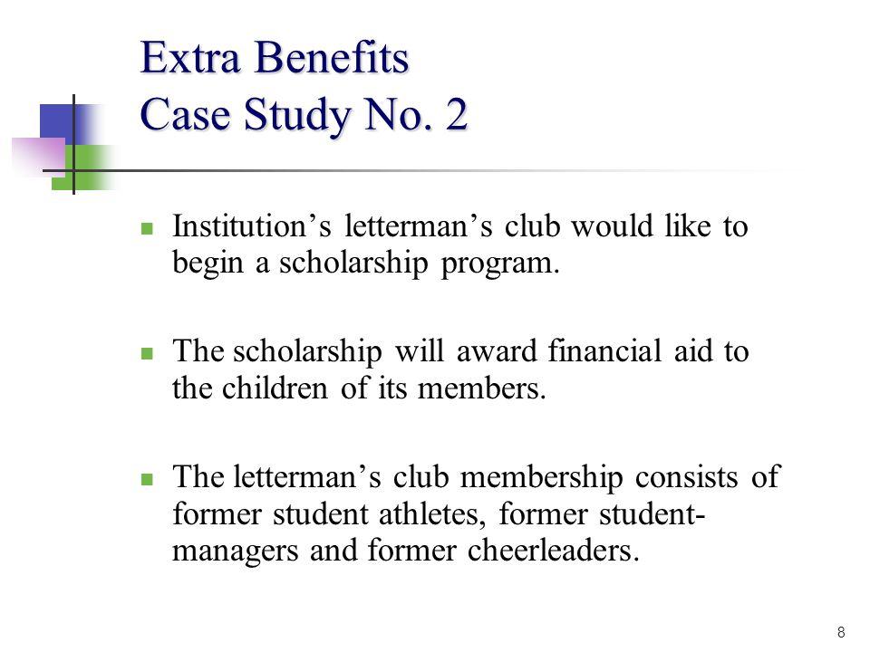 8 Extra Benefits Case Study No.