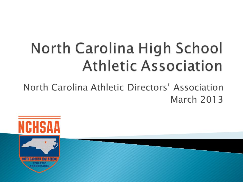 North Carolina Athletic Directors Association March 2013