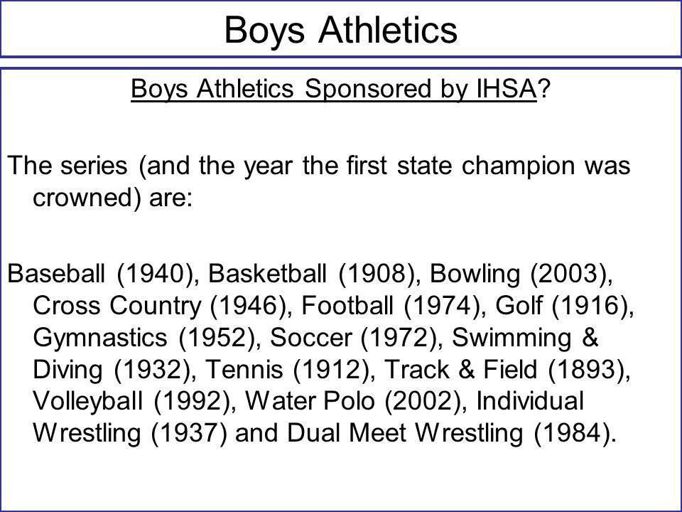 IHSA Q & As (Q) Can persons who are not certified teachers, but are at least 19 years old be a head coach.