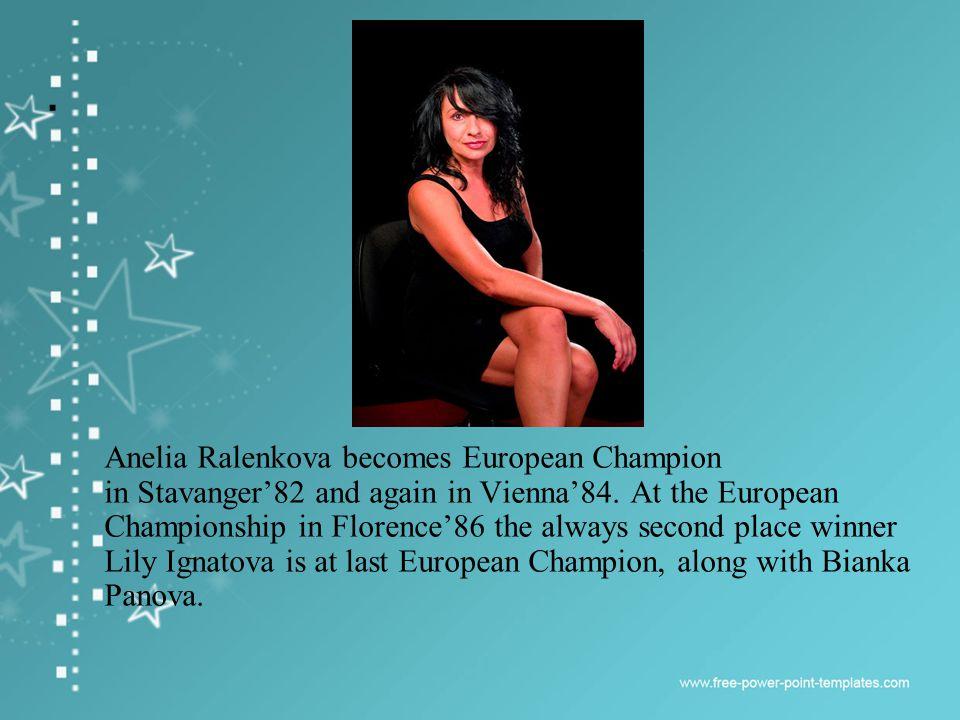 In Helsinki88 two Bulgarian girls – Elizabet Koleva and Adriana Dunavska with equal points are AA European Champions.