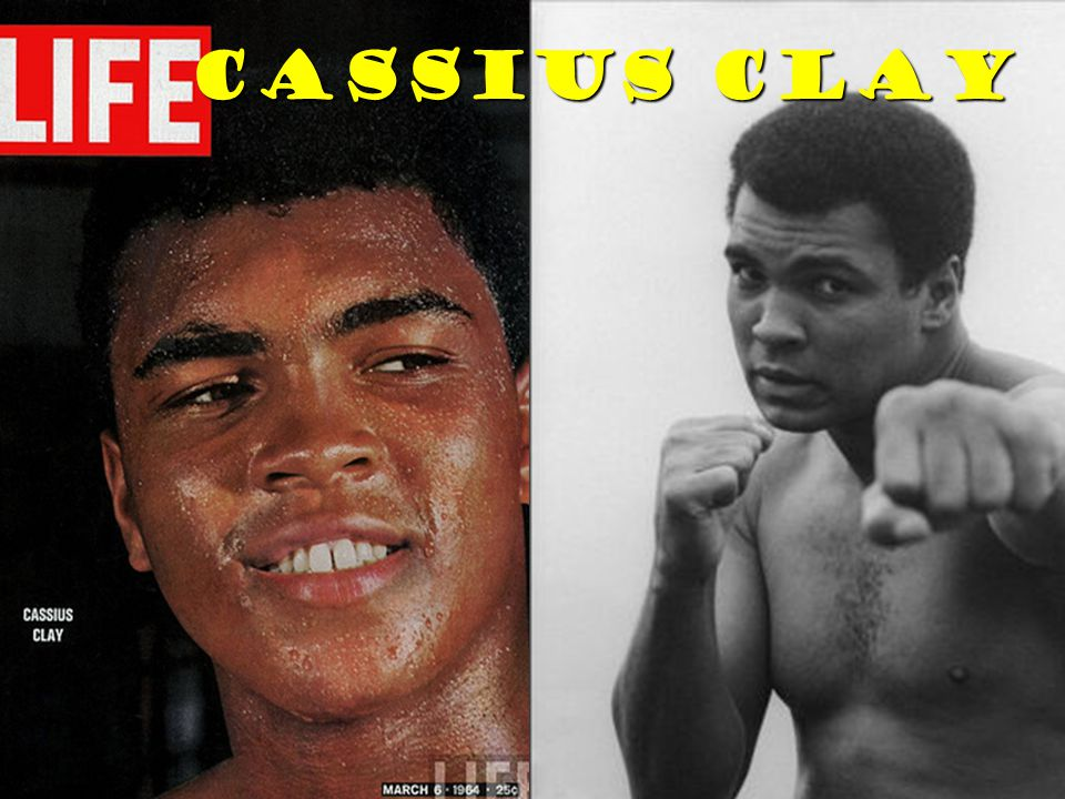 In 1964, as he started to flirt with converting to Islam, Clay was slated to fight Liston in a championship fight.