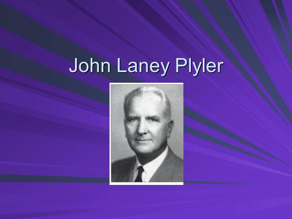 John Laney Plyler