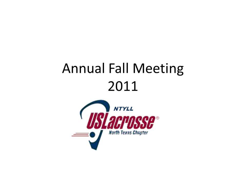 Annual Fall Meeting 2011 NTYLL