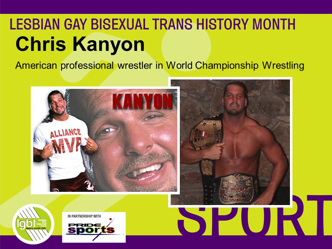 Chris Kanyon American professional wrestler in World Championship Wrestling