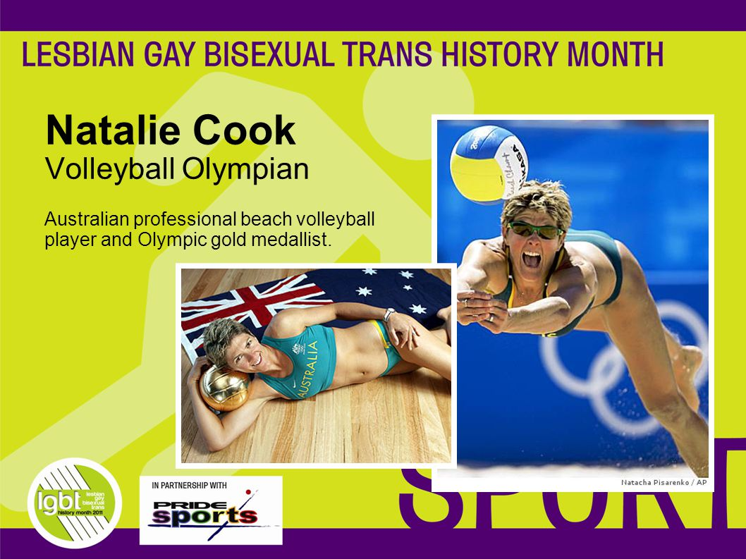 Natalie Cook Volleyball Olympian Australian professional beach volleyball player and Olympic gold medallist.
