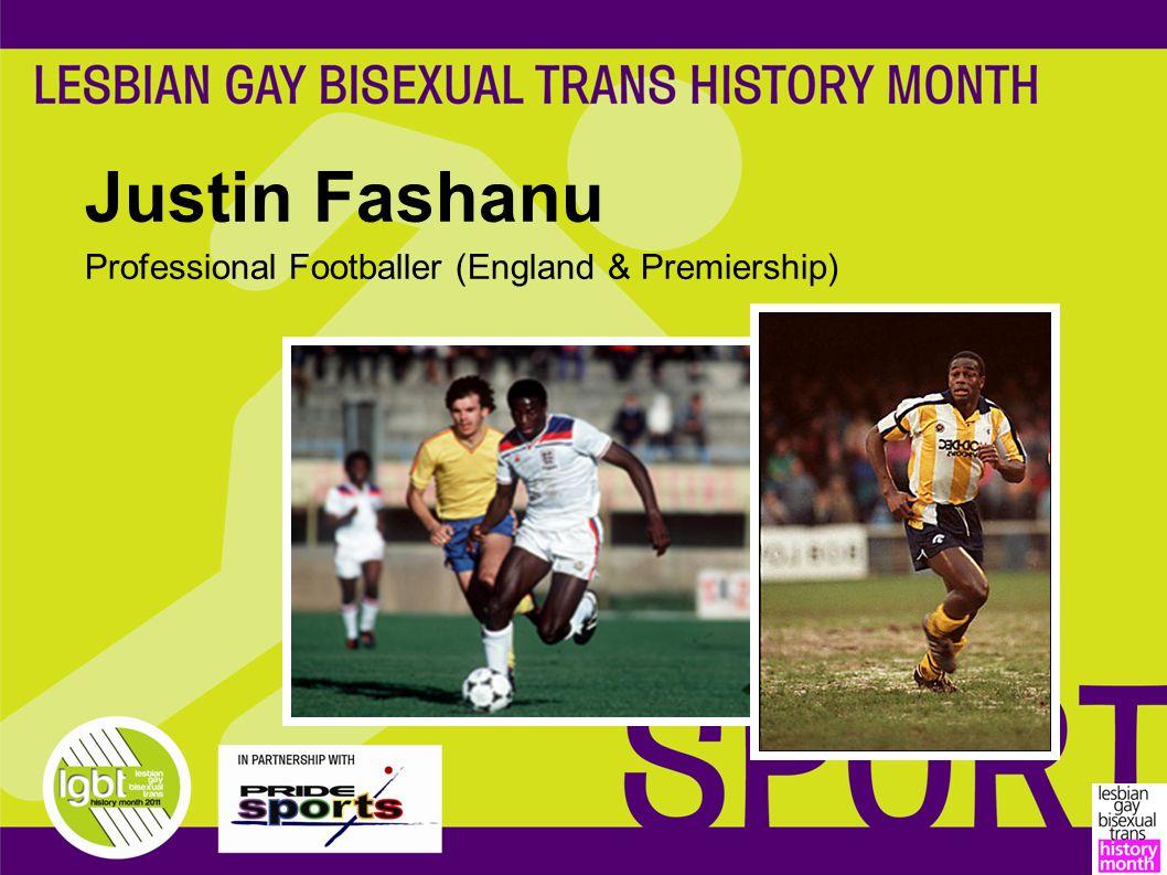 Justin Fashanu Professional Footballer (England & Premiership)
